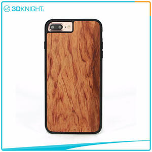 Wholesale 3D KNIGHT | Handmade Wood Cover For Iphone 7 Plus Wood Case suppliers