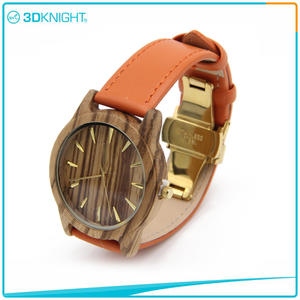 Wholesale 3D KNIGHT | Fashion Handmade Wooden Watch suppliers