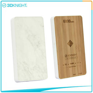 Wholesale Wood Power Bank 6000mah Wood Protable Charger manufacturers