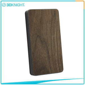 3D KNIGHT | Wooden Power Bank 6000mah Wood Protable Charger