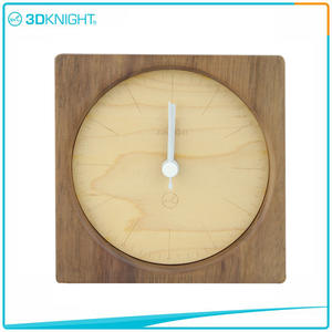 custom-made 3D KNIGHT | Handmade Wooden Clocks Desklop Clocks suppliers