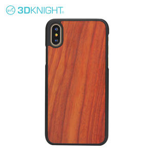 Customized Laser Engraving Iphone X Wood Case