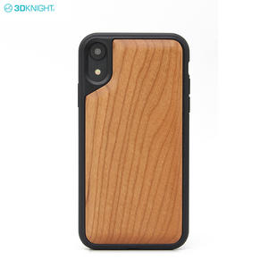 3D Blank Wood TPU Mobile Cell Phone Case For Iphone X XR XS MAX