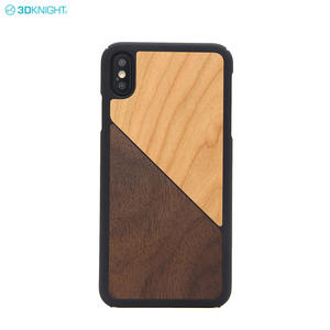 Top Gold Supplier Sale Blank Real Wood Phone Case For IPhone XS MAX