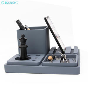 Multi-functional Luxury Concrete Unique Office Stationery Storage Box Gift Set