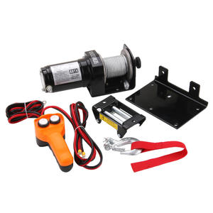 China high quality 1500lbs portable atv winch upplier