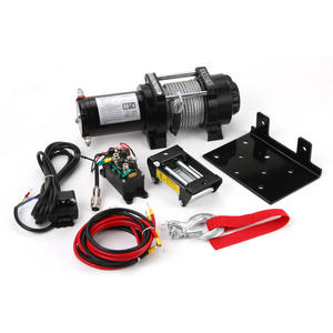 China wholesale 3500lbs 12 volt portable winch supplier