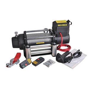 China wholesale 9500LB-B portable electric winch 12v manufacturer