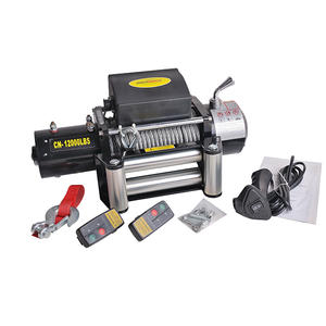 China wholesale 12000lB electric winch manufacturer