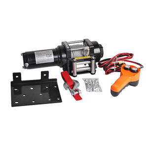 China 4000lb-h portable car winch supplier