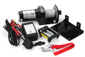 China wholesale 2000lb-w portable power winch supplier