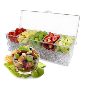 5 in 1 Removable Free Condiment Server On Ice itemprop =