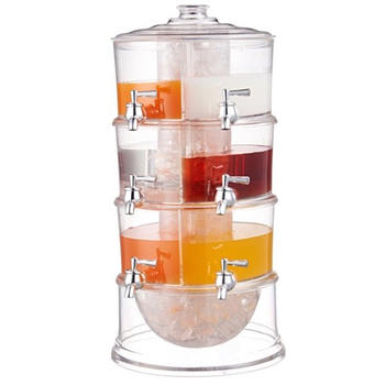 3-layer Beverage Dispenser, jus dispenser itemprop =