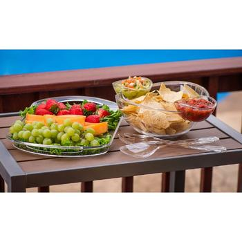 Chip And Dip Salad Fruit Bowl Serving Tray itemprop =