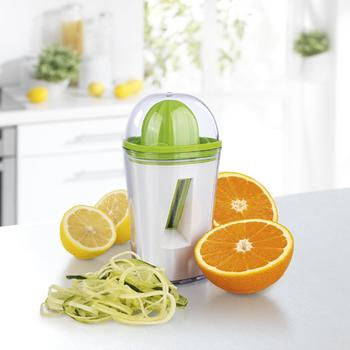 2 in 1 vegetable Spiral slicer and orange Juicer itemprop=