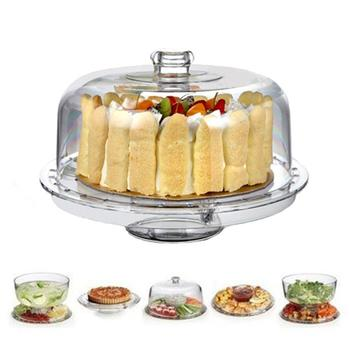 Multifunctional Punch Bowl Wedding Cake Stand itemprop=