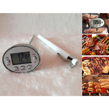 Dial BBQ Temperature thermometer sensor for cooking  itemprop=