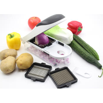 3 in 1 plantaardige chopper en Dicer itemprop =