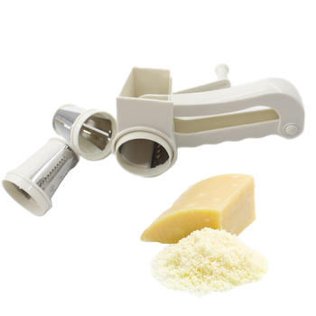 3 Blades Manuel Légumes Trancheuse Rotary Cheese Râpes Tambour Cheese Shredder itemprop =