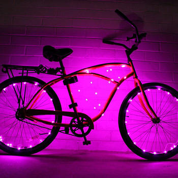 Bike Wheel LED-verlichting Super Cool Bicycle Wheel Lights itemprop =