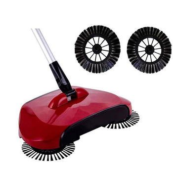 All-in-one Household 360 spin Automatic Broom sweeper itemprop =