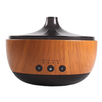 Bluetooth Serat Kayu Minyak Esensial Aroma Diffuser Humidifier, Bluetooth Music Player itemprop =