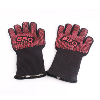 BBQ gloves grill oven heat resistant barbecue gloves baking heat proof grill mitts accessories itemprop=