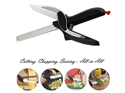 2-in-1 Food Chopper Cutter