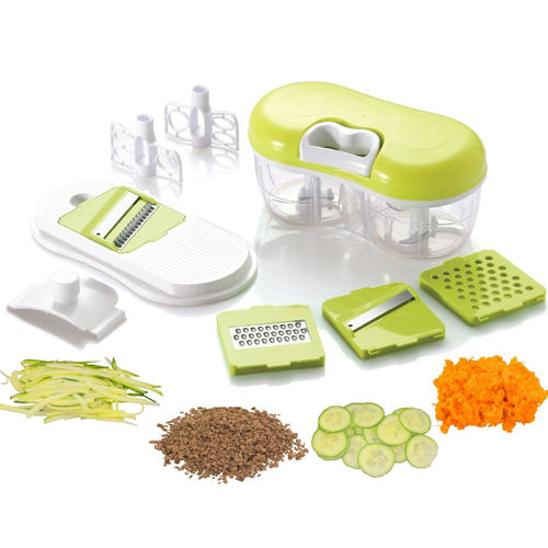Handheld Vegetable Chopper Shredder Slicer Grater Chopper Blender