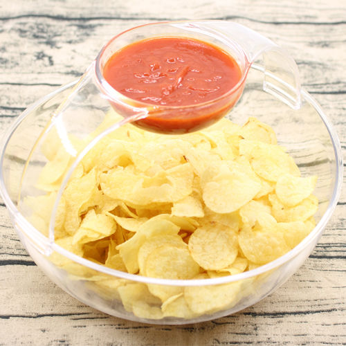 Arc Chip et Dip Bowl Snack Bowl Salad Bowl