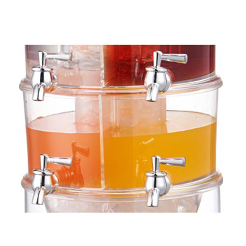 3-layer Beverage Dispenser, juice dispenser