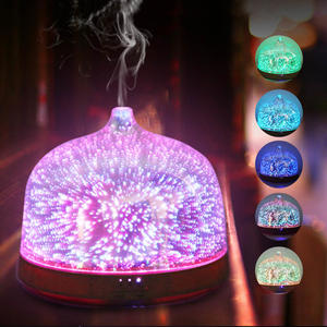 Multifunctional 3D Starburst Aroma Essential Oil Diffuser Humidifier