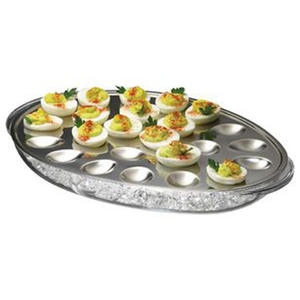 high quality Iced Eggs Serving Tray Iced Platter