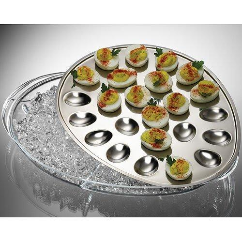 Iced Eggs Serving Tray, Iced eggs holds