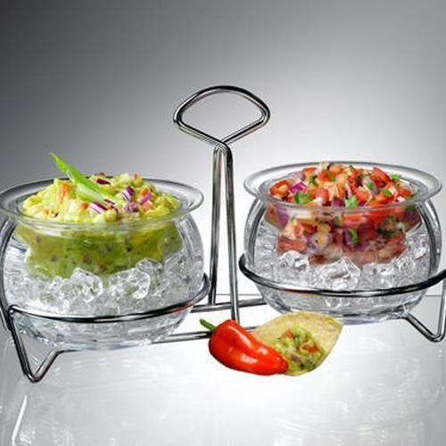Double Dips on ice Serving Bowls