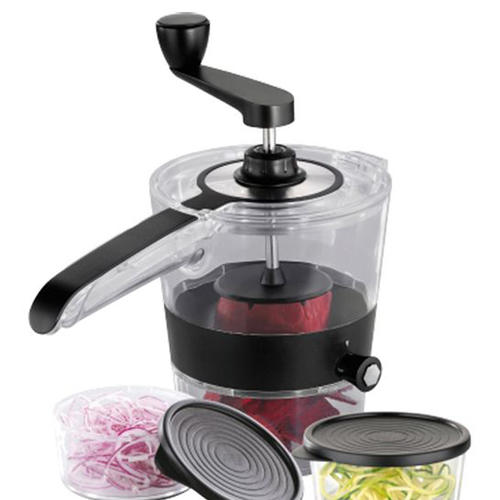 Vegetable Spiral Slicer spiralizer with container