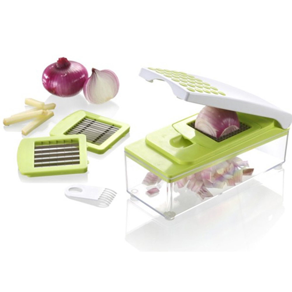 7 in 1 Vegetable Julienne Slicer-Vegetable Chopper Dicer Cutter