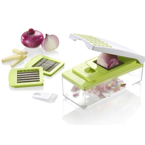7 i 1 Vegetabilsk Julienne Slicer-Vegetable Chopper Dicer Cutter