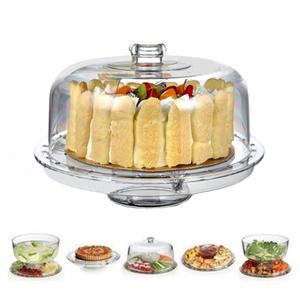 Multifunctional Punch Bowl Wedding Cake Stand