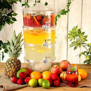 high quality 3 Tier Beverage Dispenser juice dispenser,orange juice dispenser