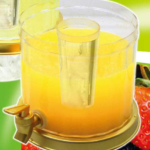 2 Gallon Beverage Dispenser fruit juice dispenser