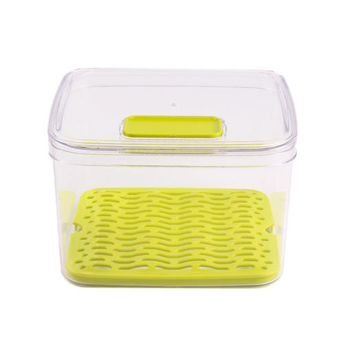 Vegetable keeper food storage container with lid,set of 3