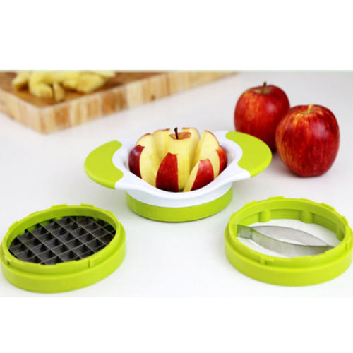 Apple Cutter Slicer Corer Divider Wedger-Apple Slicer Potato Slicer Cutter for French Fries and Mango Slicer Corer