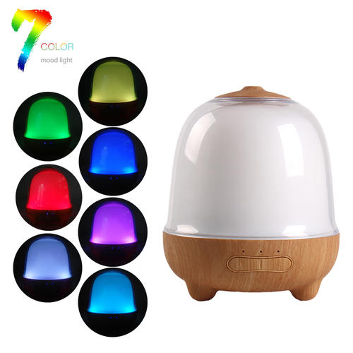 Wood Grain Aroma Diffuser,Essential oil Diffuser Humidifier
