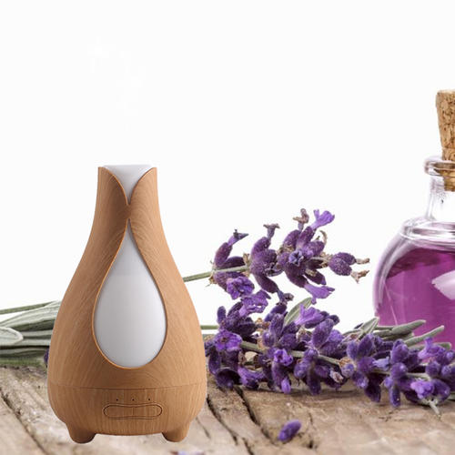 150ML Wood Grain Aroma Ultrasonic Cool Mist Humidifier,Essential oil Diffuser