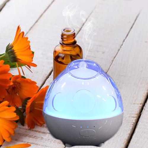 130ml Aromatherapy Wood Grain Essential Oil Diffuser Humidifier