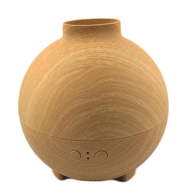 Wood Grain Essential Oil Diffuser with LED lights