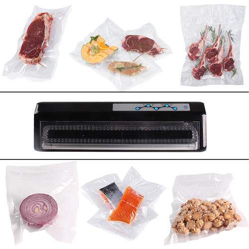 Vacuum Sealer,Vacuum Sealing System Machine,Food Saver Meat Vacuum Sealer with Sealing Bags
