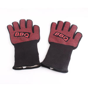 BBQ gloves grill oven heat resistant barbecue gloves grill mitts accessories