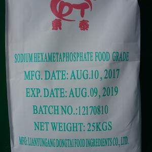 Food ingredients sodium hexametaphosphate 68% purity original manufacturer